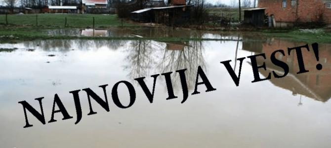 Проглашена ВАНРЕДНА СИТУАЦИЈА у Месној заједници Прово – насеље Орлача