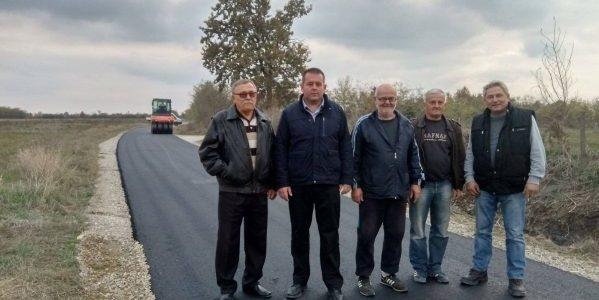 Зарић: Наставља се асфалтирање путева
