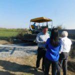 У току су радови на асфалтирању два путна правца у МЗ Вукошић